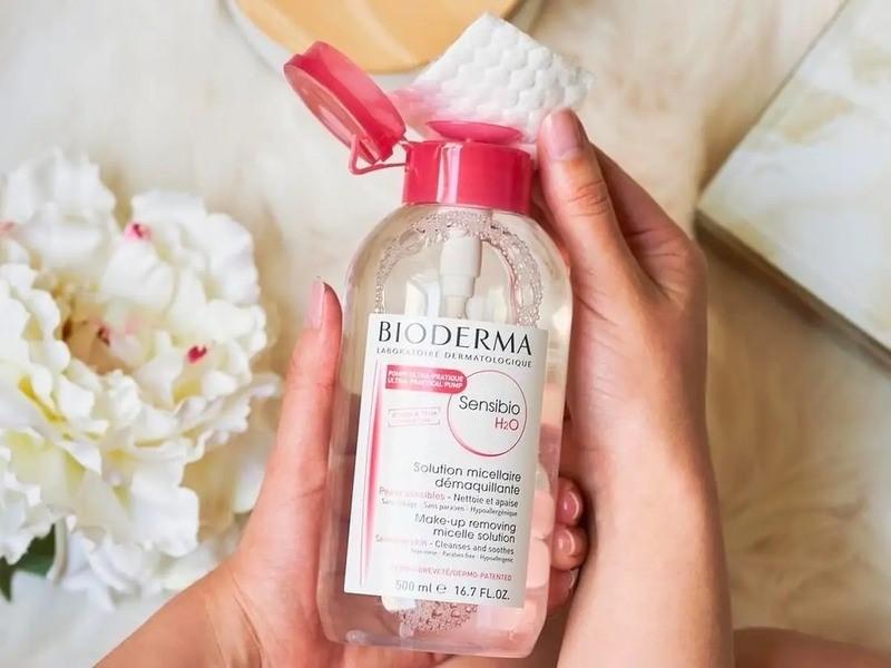 Nước tẩy trang Bioderma giúp làm sạch da hiệu quả