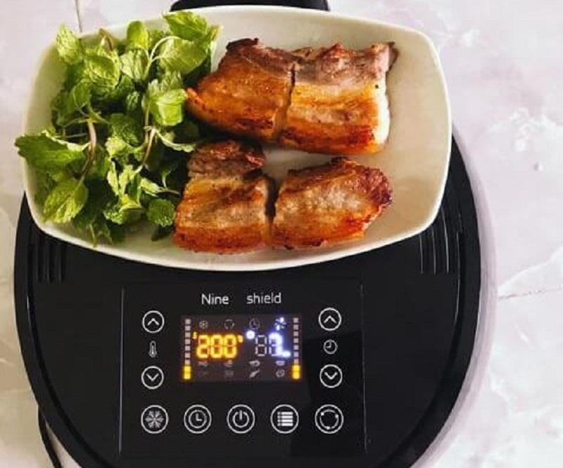 Đánh giá chất lượng món ăn được chế biến bằng nồi chiên không dầu Nine Shield 8l KB-6001
