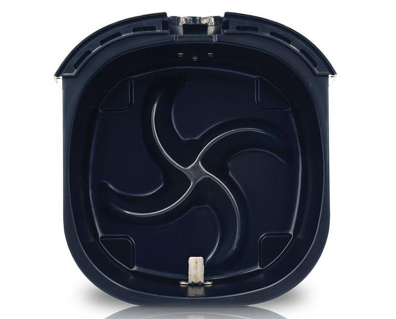 Đáy nồi chiên không dầu Philips HD9220 thiết kế Starfish