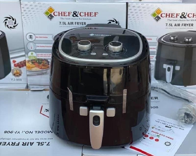 Nồi chiên không dầu Chef and Chef YJ-908