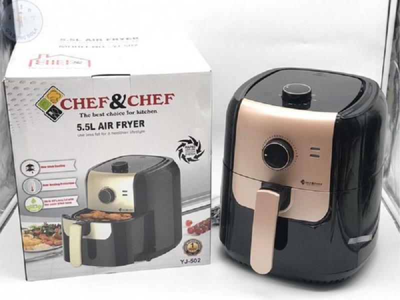 Nồi chiên không dầu Chef and Chef giá bao nhiêu?