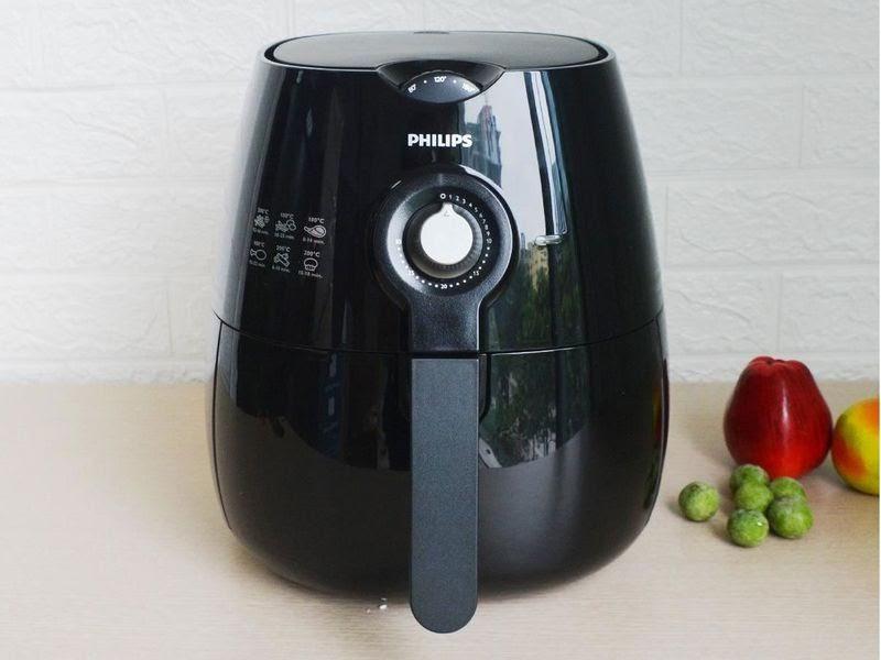 Nồi chiên không dầu Philips HD9220 cho phép hẹn giờ 30 phút