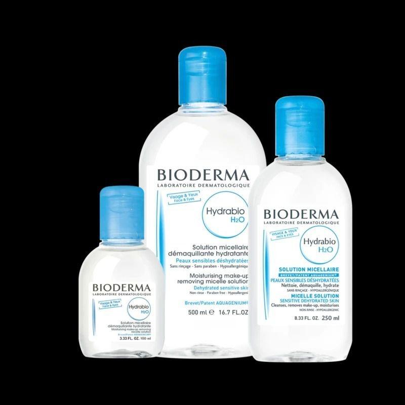 Nước tẩy trang Bioderma xanh dương có mấy loại?