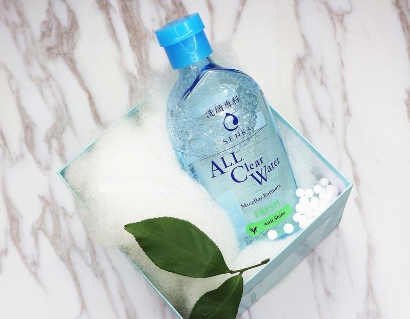 Đánh giá thành phần nước tẩy trang Senka All Clear Water