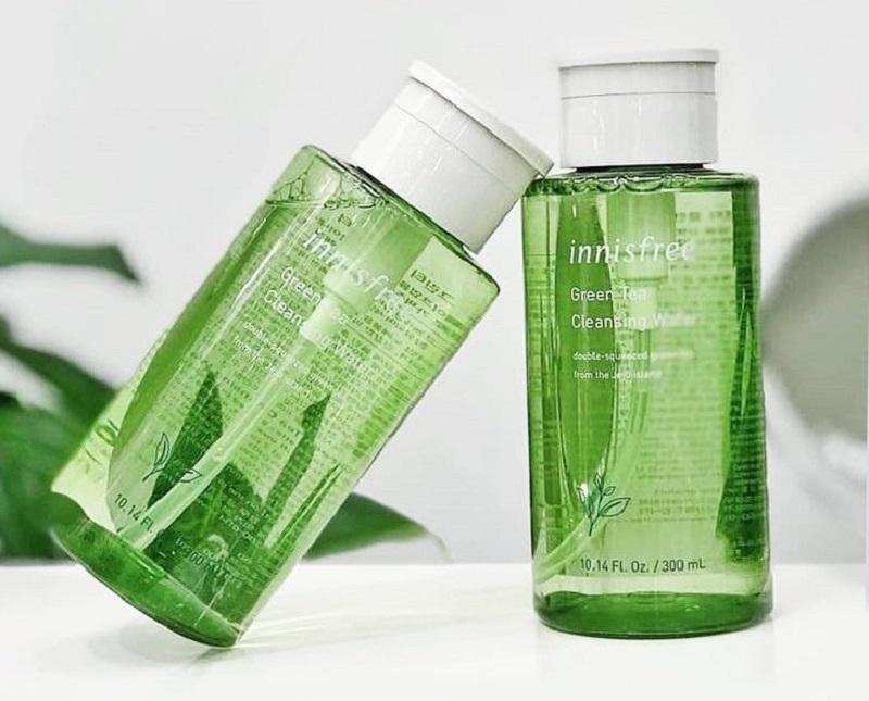 Đánh giá thành phần nước tẩy trang innisfree trà xanh Green Tea Cleansing Water