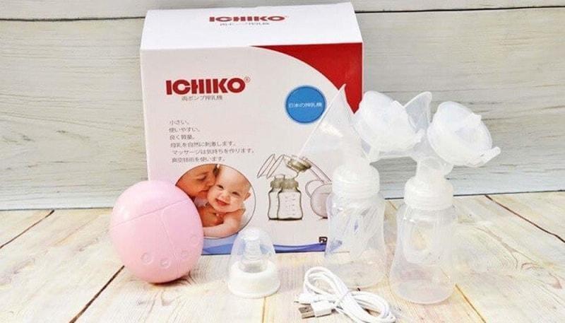 Máy hút sữa điện đôi Nhật Bản Ichiko