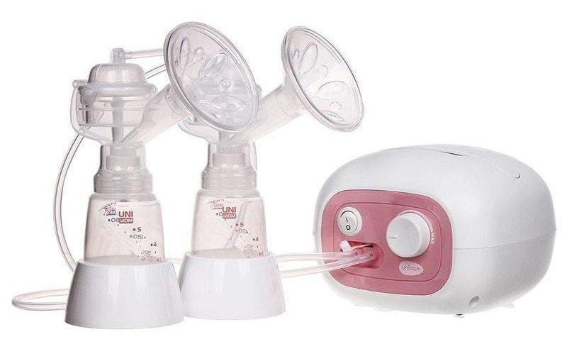 Máy hút sữa đôi bằng điện Unimom Forte UM880038