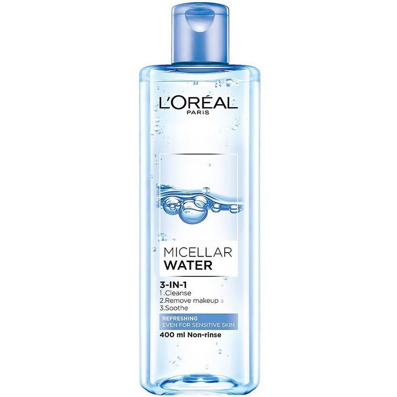 Nước tẩy trang Loreal Paris Micellar Water Refreshing cho da dầu
