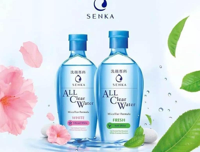 Nước tẩy trang Senka All Clear Water