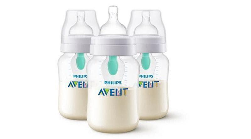 Bình sữa Avent chống sặc