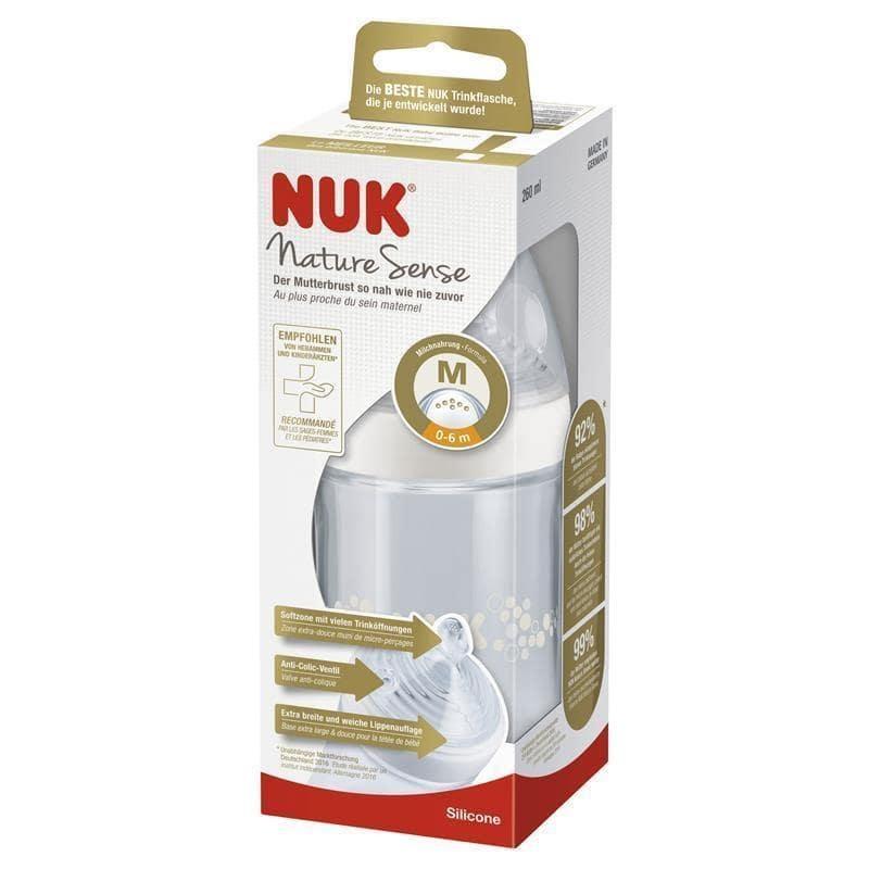 Bình sữa Nuk Nature Sense