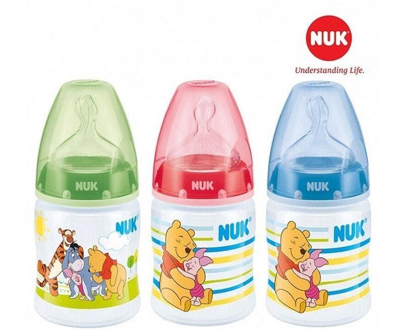 Bình sữa Nuk đa dạng kiểu dáng