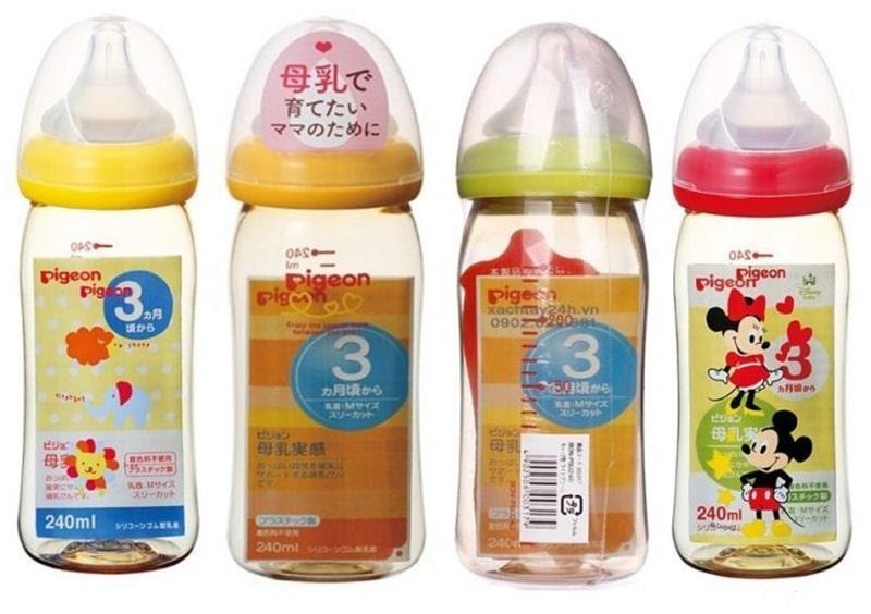 Bình sữa Pigeon nội địa Nhật mua ở đâu uy tín?