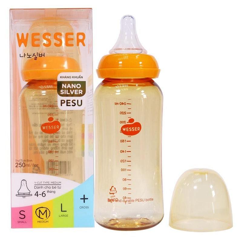 Bình sữa Wesser có chứa BPA không?