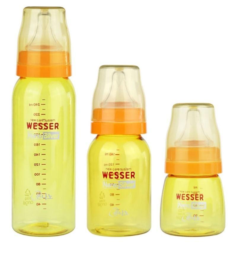 Bình sữa Wesser có mấy loại?