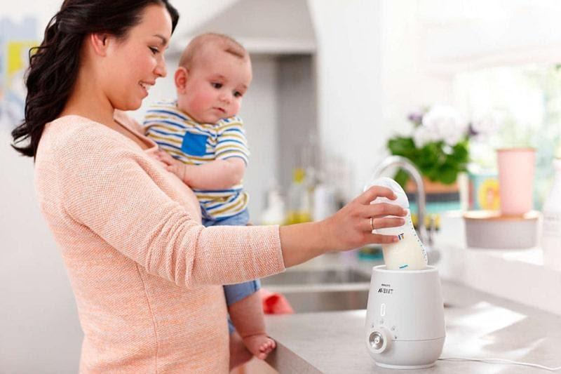 Cách dùng máy hâm sữa đúng chuẩn