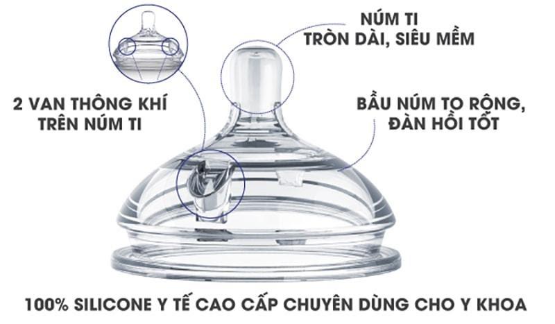 Chất liệu bình sữa Comotomo