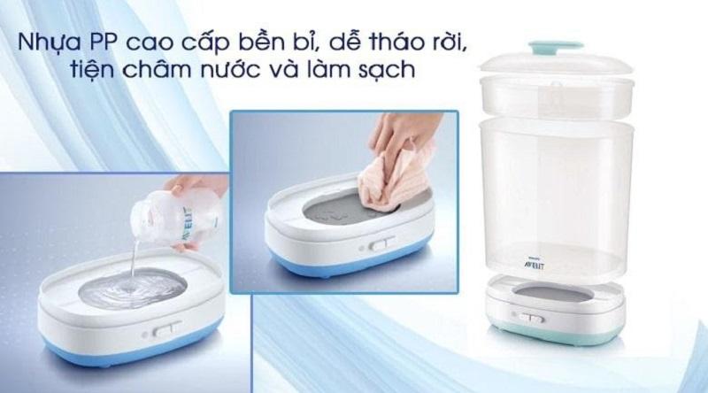 Kiểu dáng, thiết kế máy tiệt trùng bình sữa