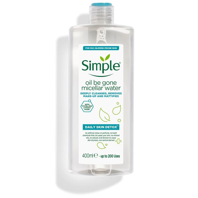 Nước tẩy trang Simple Daily Skin Detox Oil Be Gone cho da dầu nhờn