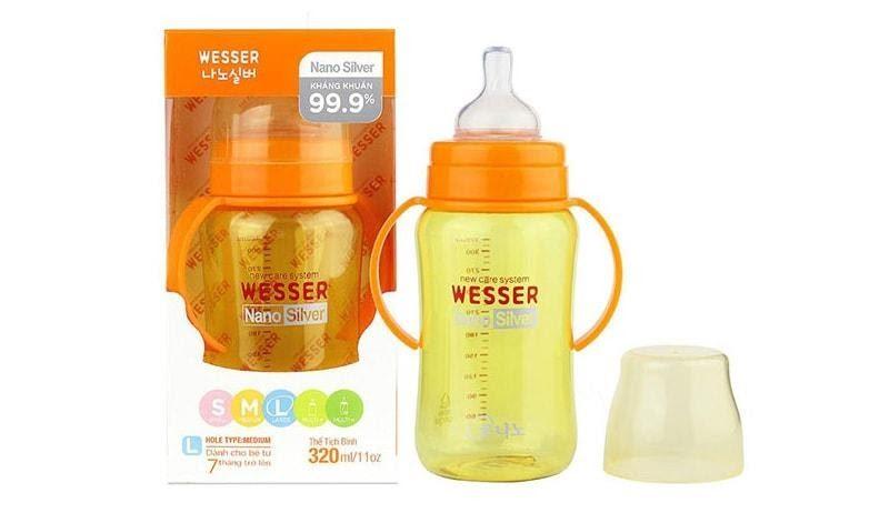 Ưu điểm của bình sữa Wesser
