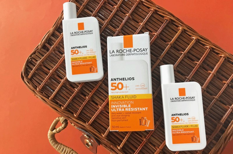 Kem chống nắng cho da nhạy cảm La Roche-Posay Anthelios Shaka Fluid SPF50+