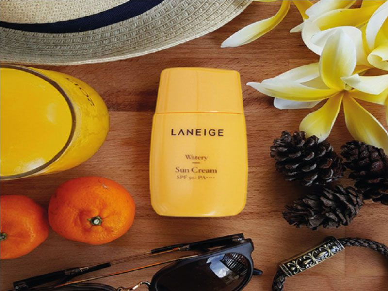 Kem chống nắng đi biển Laneige Watery Sun Cream SPF50+