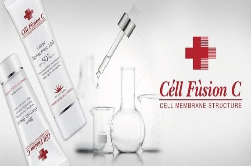 kem chống nắng cell fusion c review