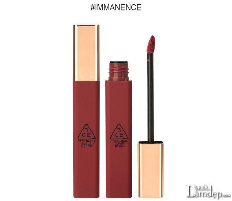 Thiết kế nổi bật của son 3CE màu Immanence