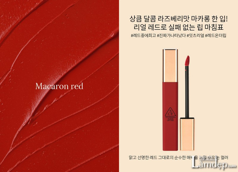 3ce macaron red review
