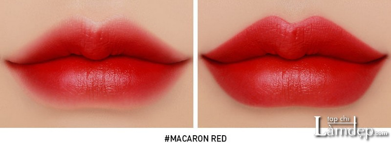 3ce macaron red swatch