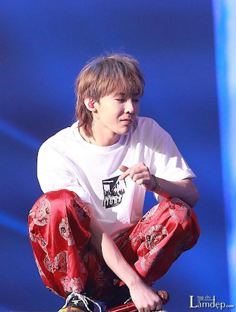 Kiểu tóc Mullet của G-Dragon