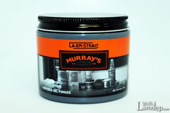 Gel vuốt tóc Murray's La Em Strait Firm Hold Gel Pomade