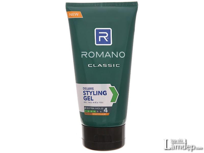Gel vuốt tóc Romano Classic