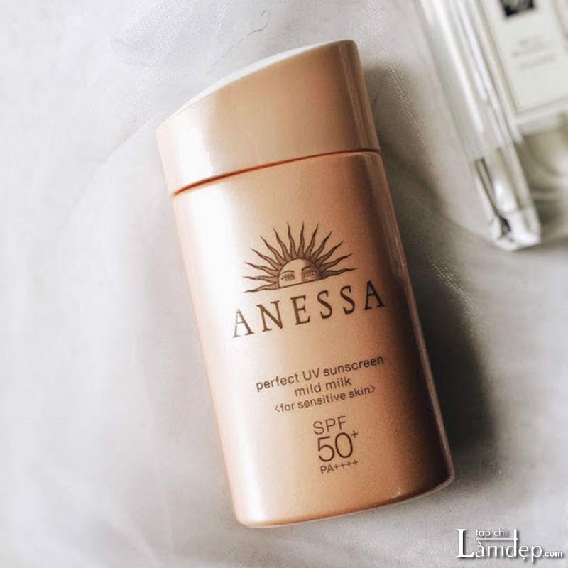 Kem chống nắng body Anessa Perfect UV Sunscreen Mild Milk SPF50