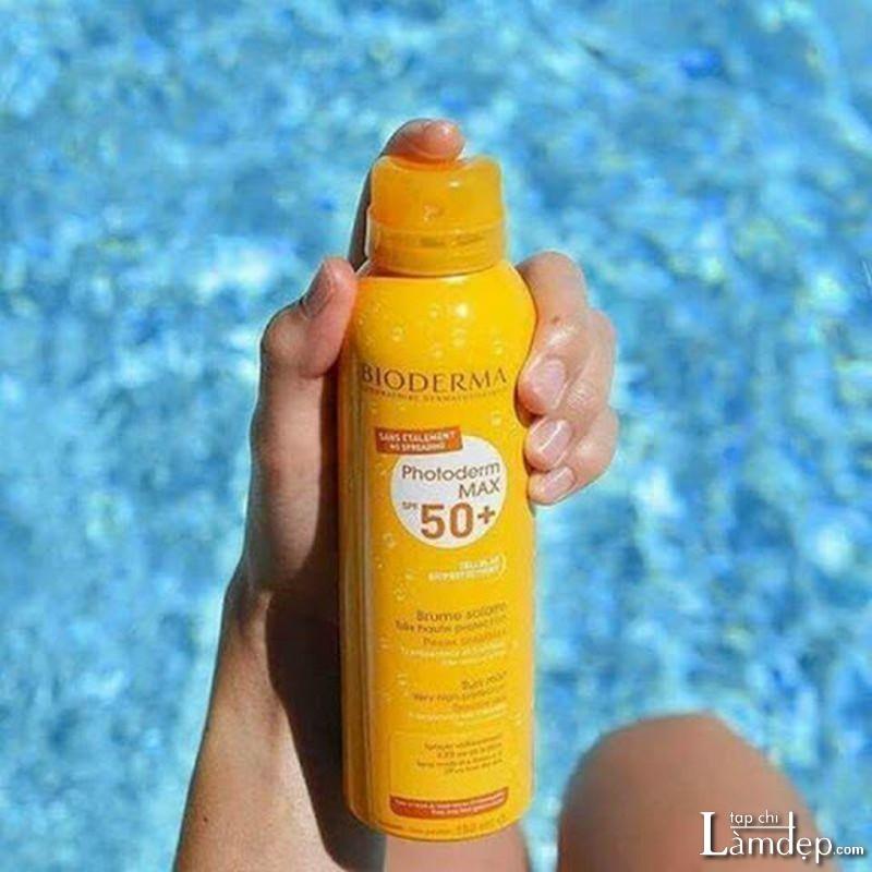 Kem chống nắng body Bioderma Photoderm Max Spray