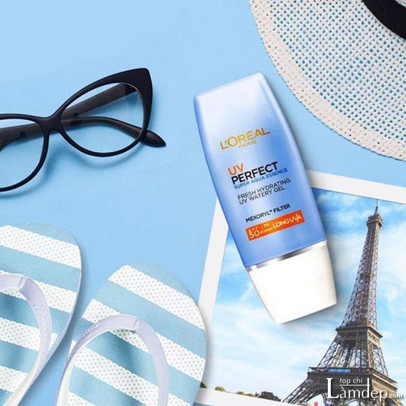 Kem chống nắng L'oreal UV Perfect Aqua Essence