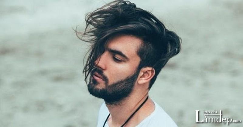 Kiểu tóc nam dài vừa