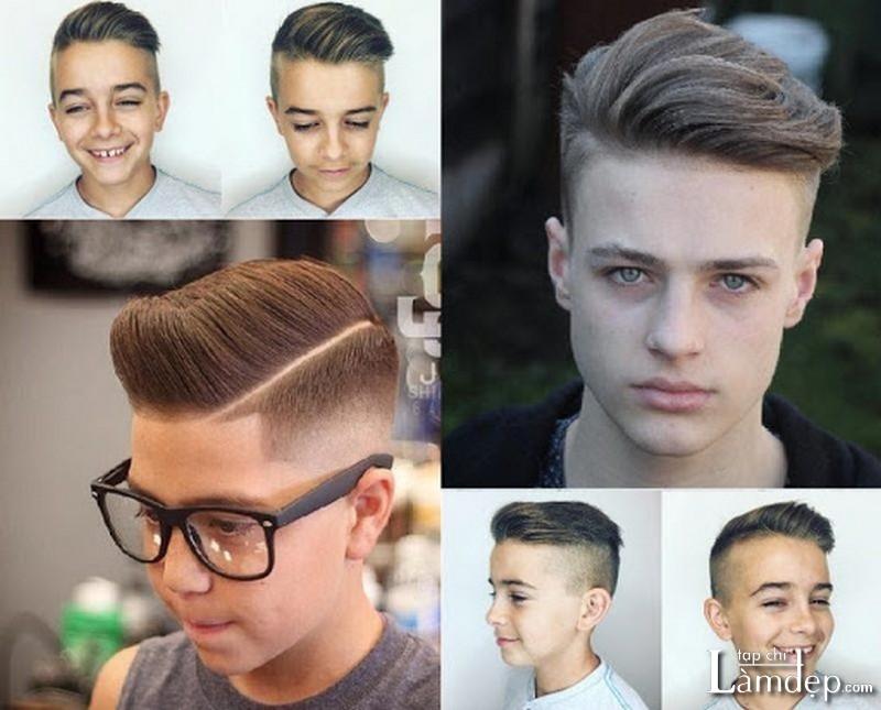 Kiểu tóc phù hợp với lứa tuổi học sinh