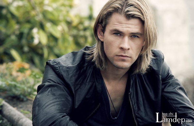 Tóc dài nam đẹp