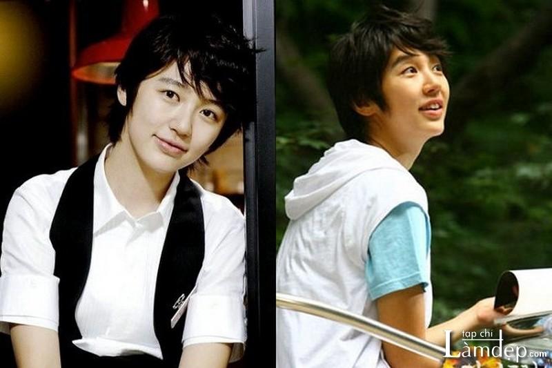 Tóc tém Tomboy Hàn Quốc đầy cá tính của Yoon Eun Hye