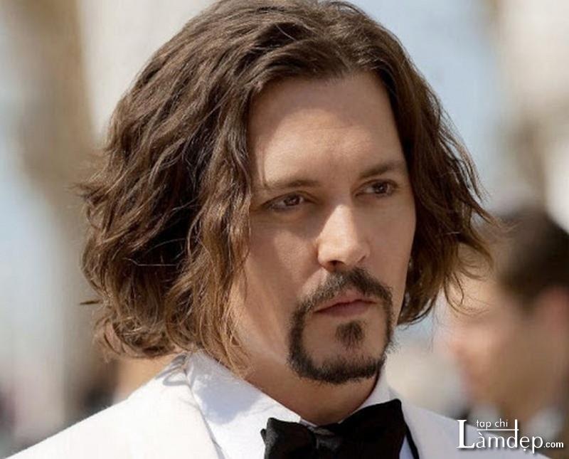 Tóc nam dài đẹp
