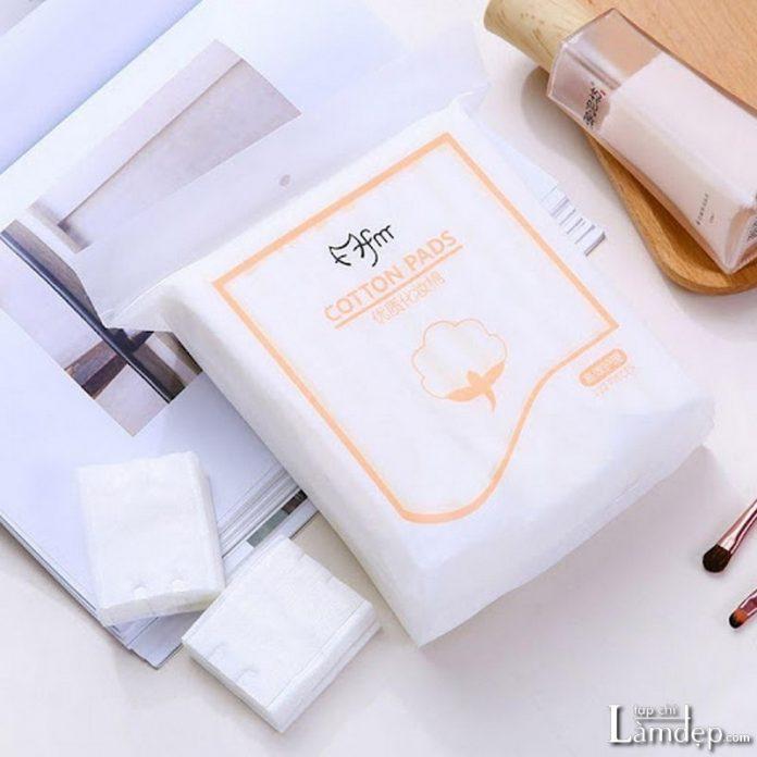 Bông tẩy trang Cotton Pads Trung Quốc
