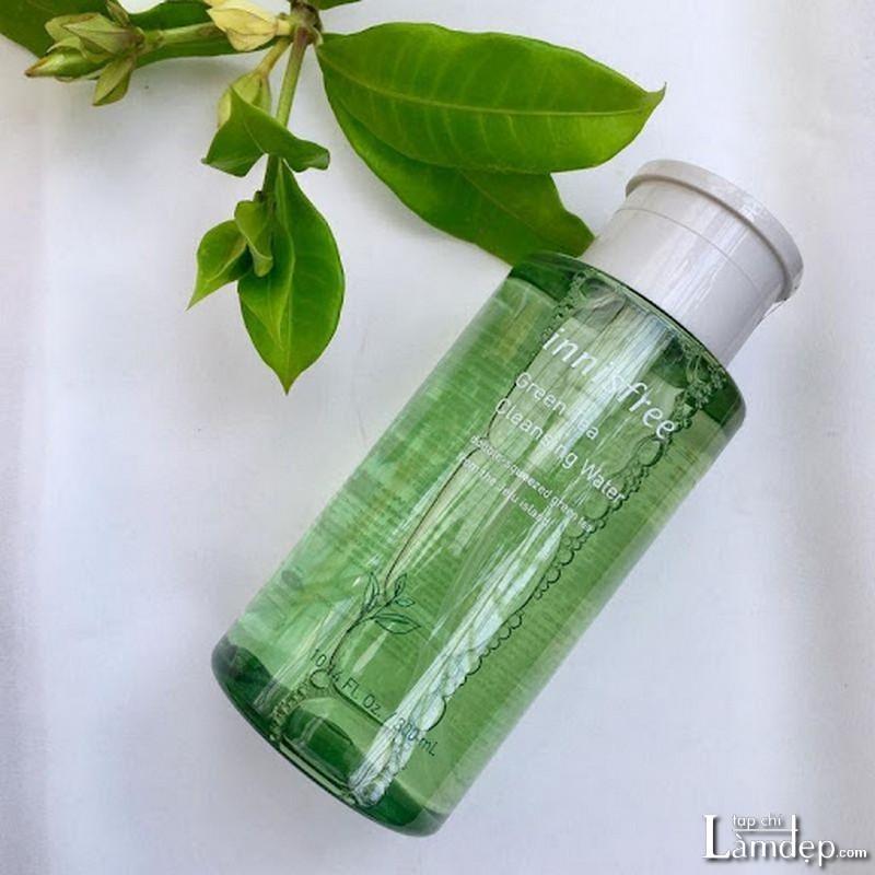 Nước tẩy trang cho da dầu mụn Innisfree Green Tea Cleansing Water