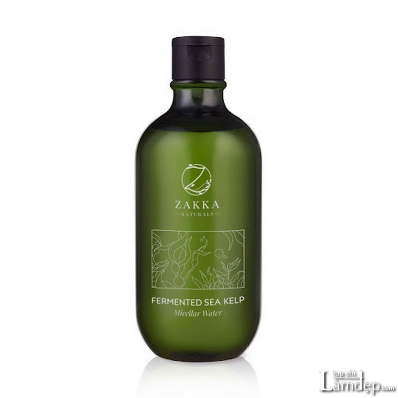 Nước tẩy trang cho da dầu mụn Zakka Naturals Fermented Sea Kelp Micellar Water