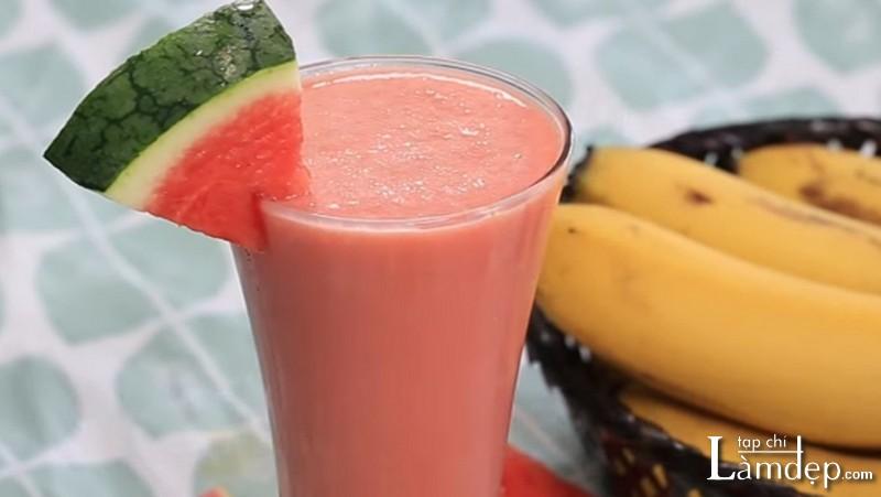 Sinh tố dưa hấu sữa chua