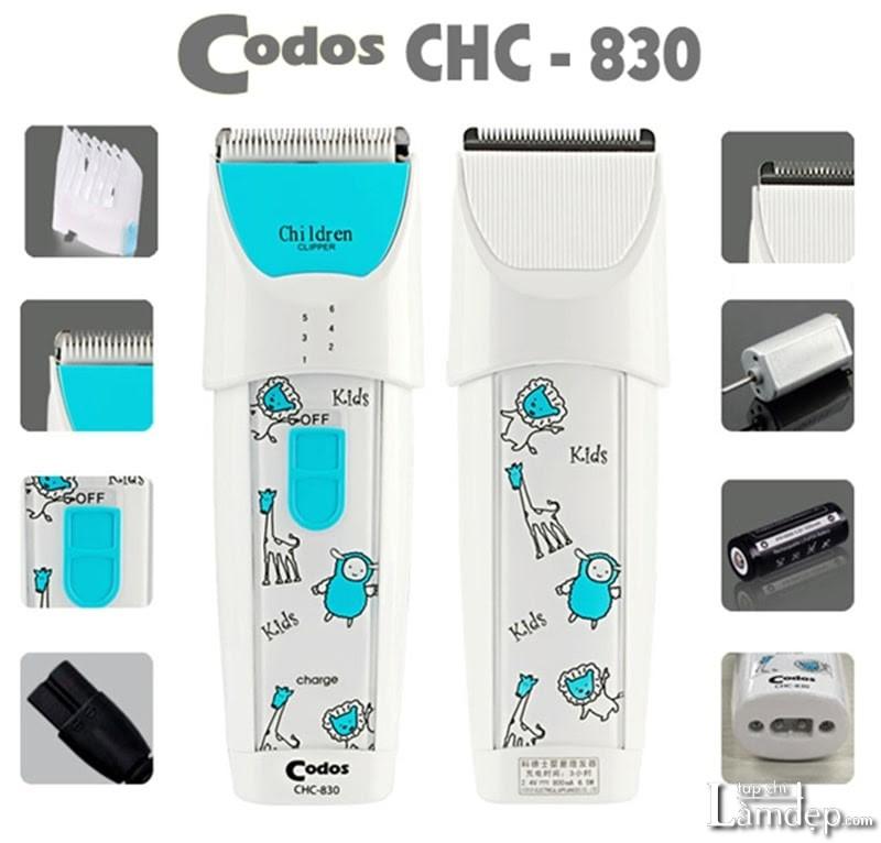 Tông đơ cắt tóc Codos CHC-830