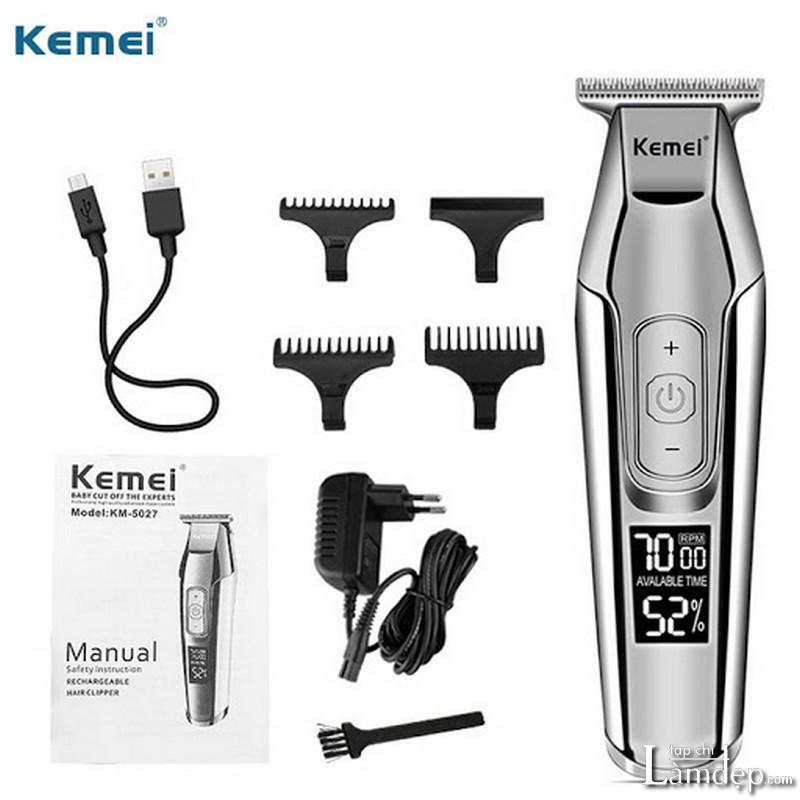 Tông đơ cắt tóc Kemei KM-5027