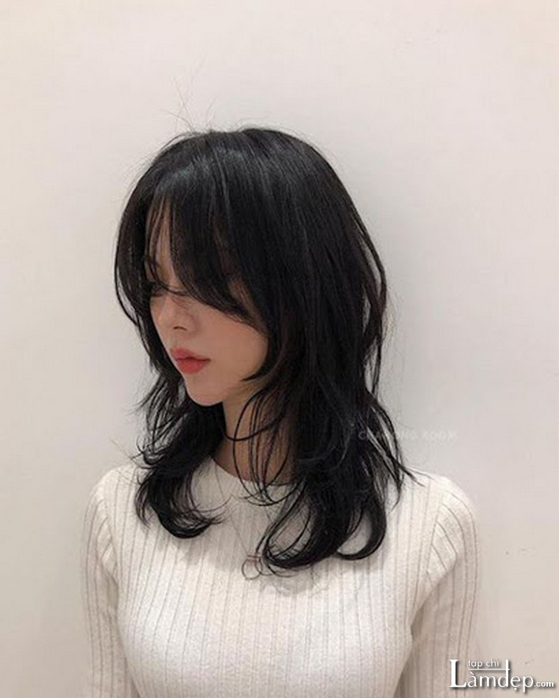 Kiểu tóc Mullet Layer dài cho nữ