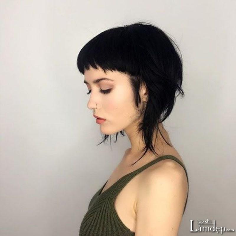Kiểu tóc Mullet ở nữ