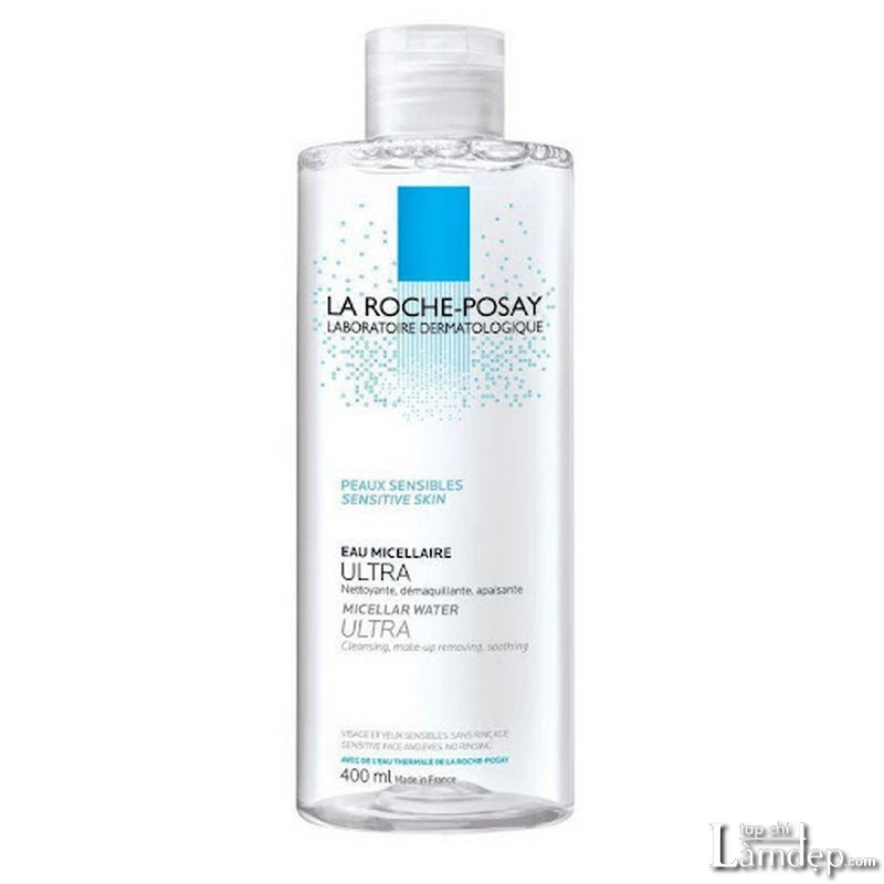 Nước tẩy trang cho da nhạy cảm La Roche-Posay Micellar Water Ultra Sensitive Skin